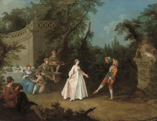 Circle of Nicolas Lancret (Par