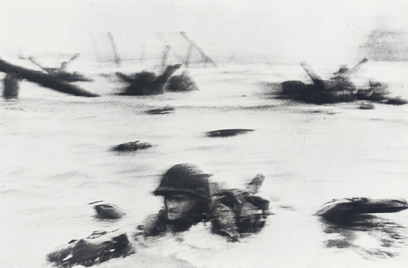 Omaha Beach, D-Day, 6 June 1944