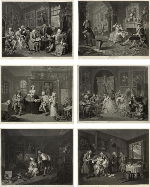 Richard Earlom (1743-1822), and after William Hogarth