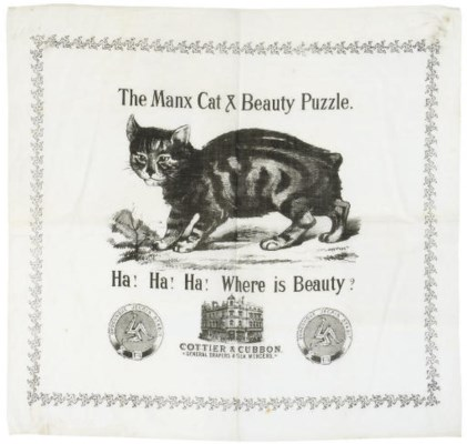 MANX CAT AND BEAUTY PUZZLE