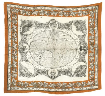 MAP OF PHILADELPHIA 1875 CENTE