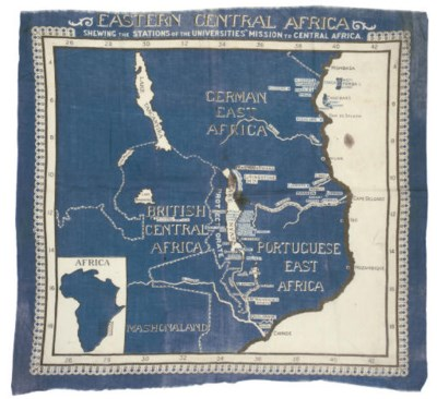EASTERN CENTRAL AFRICA MAP, CI