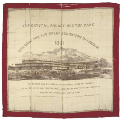 THE CRYSTAL PALACE IN HYDE PAR