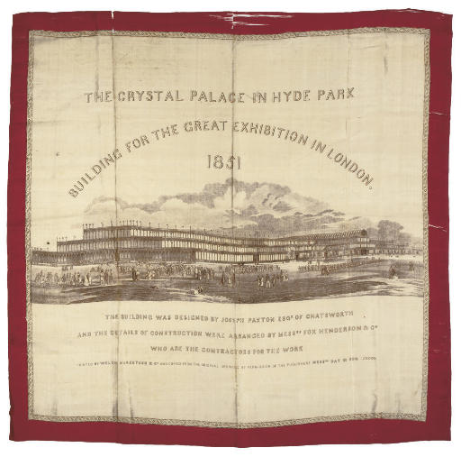 THE CRYSTAL PALACE IN HYDE PARK, 1851