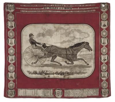 THE CELEBRATED TROTTING HORSE