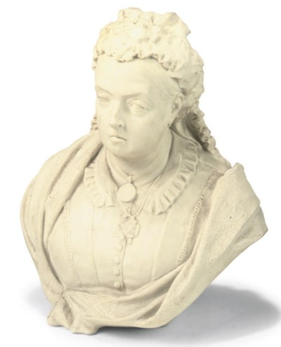 A DATED COPELAND PARIAN BUST O
