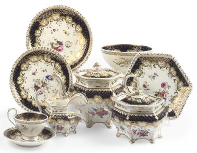 A RIDGWAYS PART TEA SERVICE