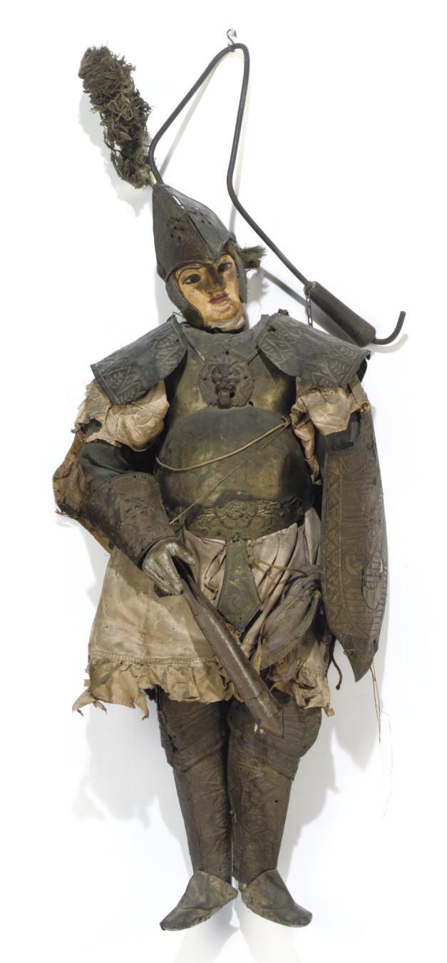 A Sicilian Marionette figure