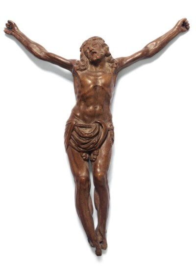 A limewood corpus christi