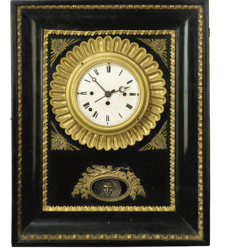 A Viennese wall clock