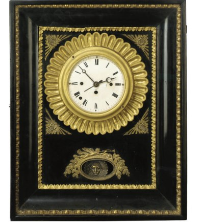 A Viennese wall clock
