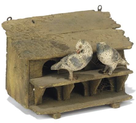 A neapolitan creche bird house