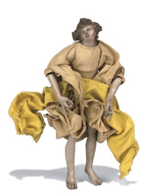 A neapolitan creche figure of