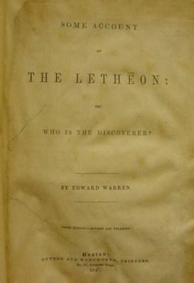 WARREN, Edward (1778-1856). So
