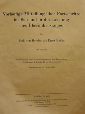 BORRIES, Bodo van (1905-1956)