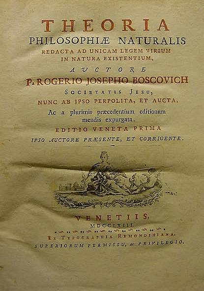 BOSCOVICH, Ruggiero Giuseppe (