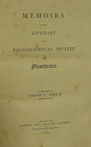 DALTON, John (1766-1844). I.
