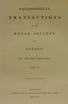 FARADAY, Michael (1791-1867).