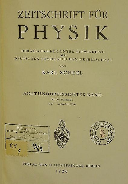 HEISENBERG, Werner (1901-76).