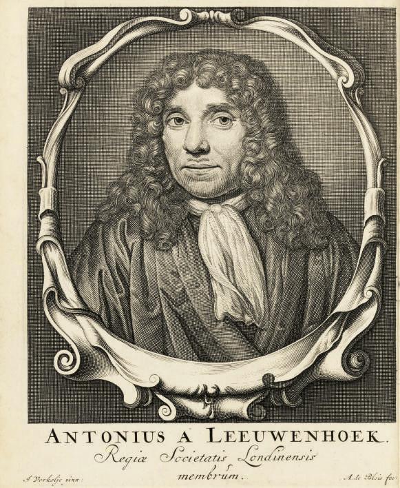 LEEUWENHOEK, Antoni van (1632-