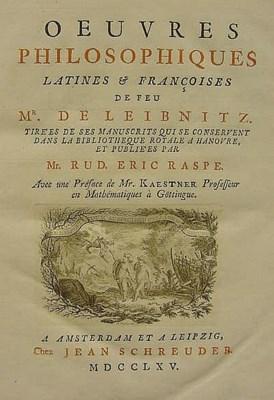 LEIBNIZ, Gottfried Wilhelm von