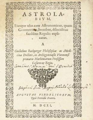 RECHPERGER, Wilhelm. Astrolabi
