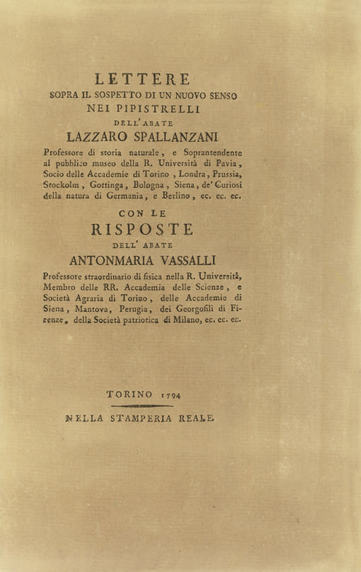 SPALLANZANI, Lazzaro (1729-99)