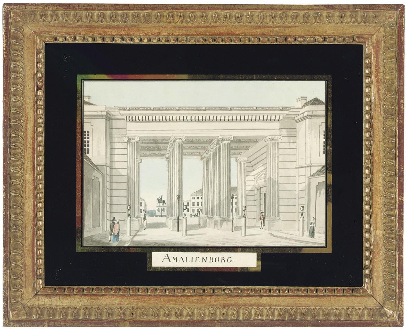 DANISH SCHOOL, CIRCA 1830
