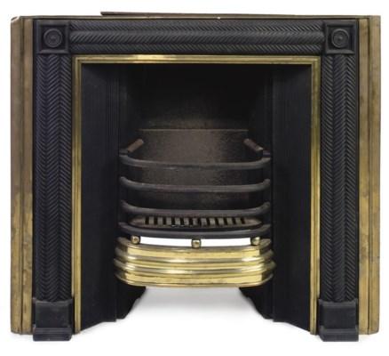 A GEORGE III SCOTTISH CAST-IRO
