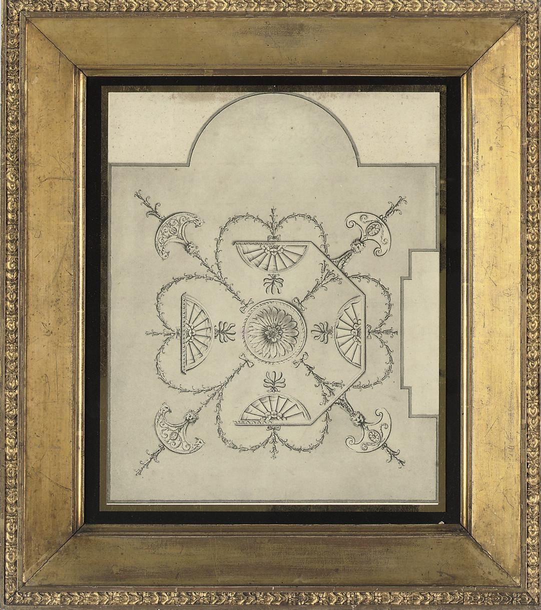 A neo-classical ceiling design