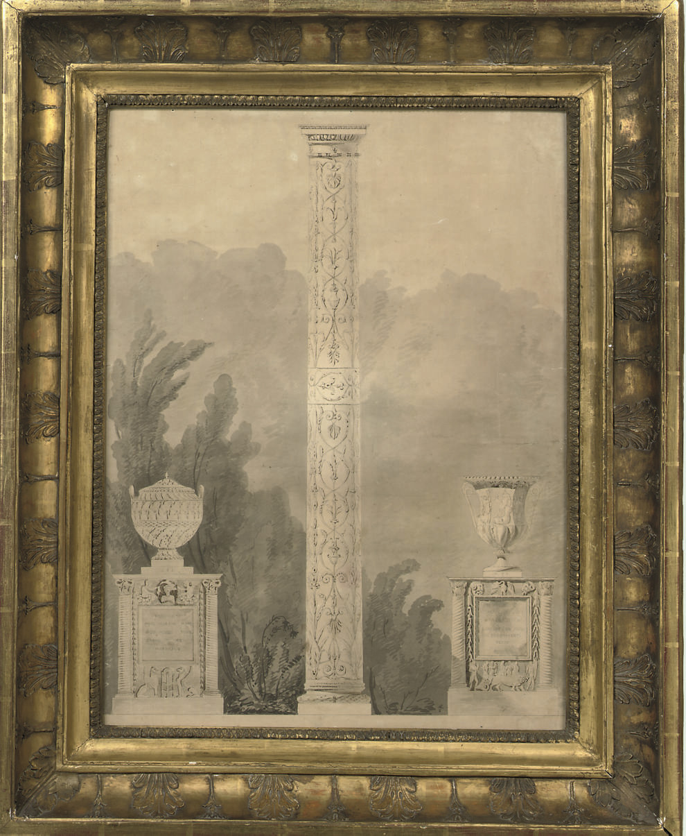 Design for a monument, possibly for the Villa Albani, Rome