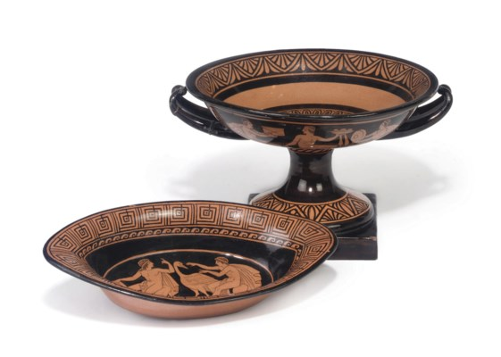 A GIUSTINANI REDWARE GREEK REV