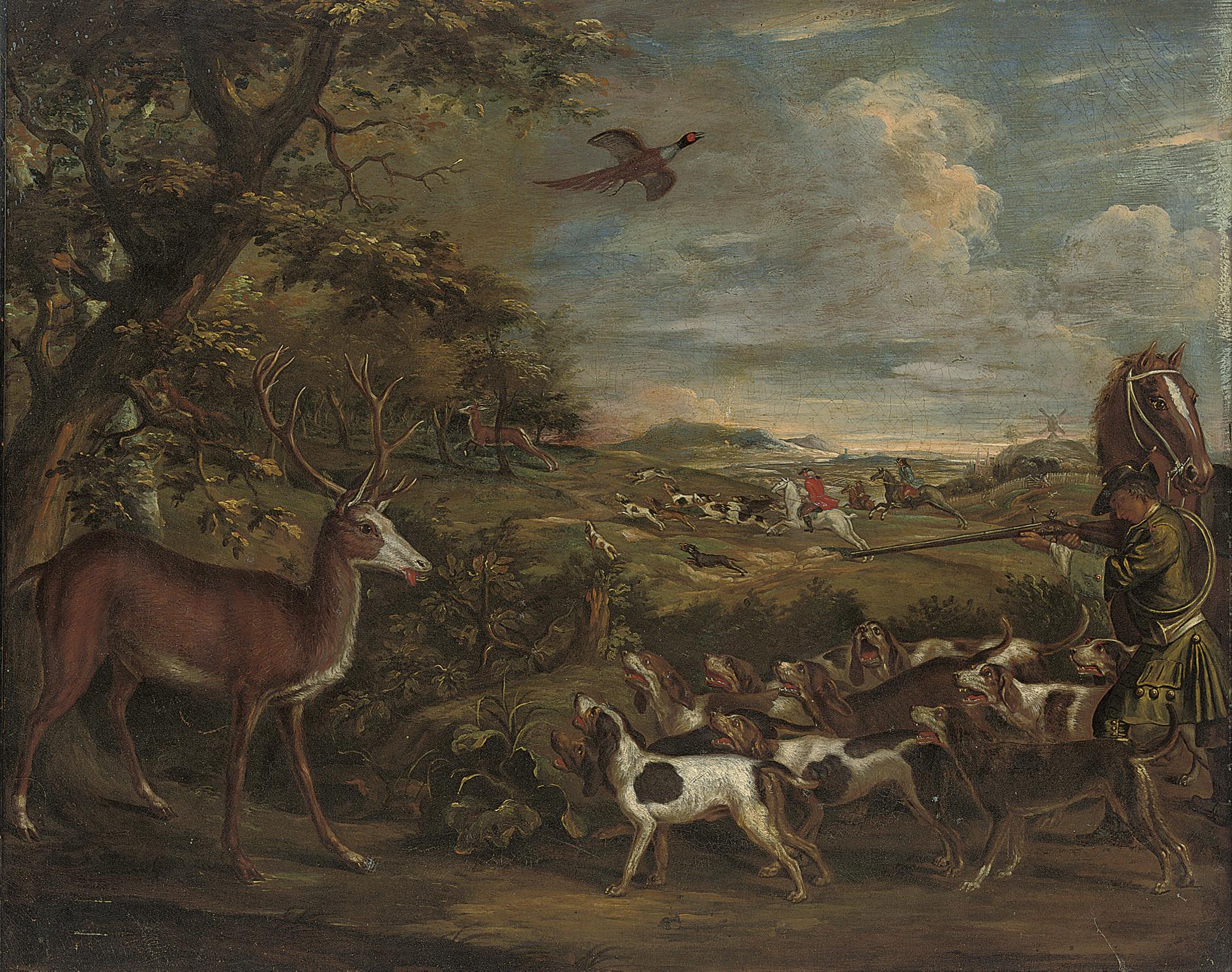 Circle of Jan Wyck (1652-1700)