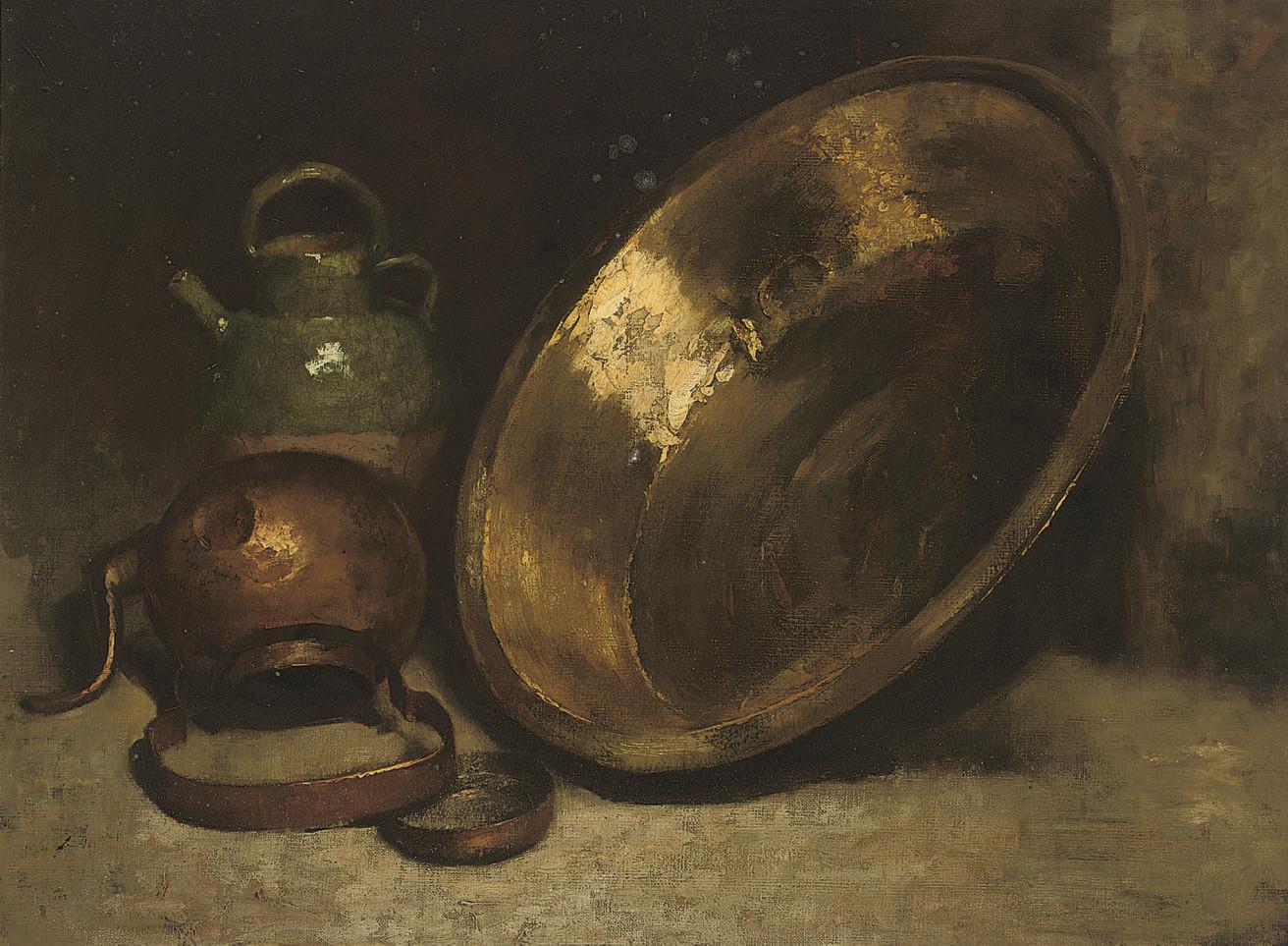 Still life of kitchen utensils