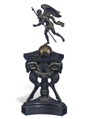 AN ANGLO-INDIAN EBONY PLINTH