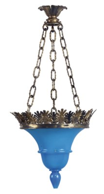 A FRENCH GILT-BRASS MOUNTED BL