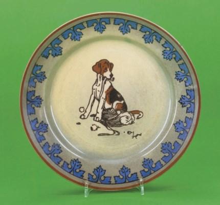 A Royal Dalton plate