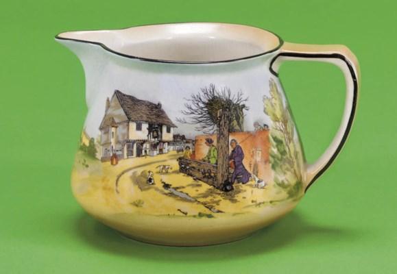 A Burleigh ware 'Merrie Englan