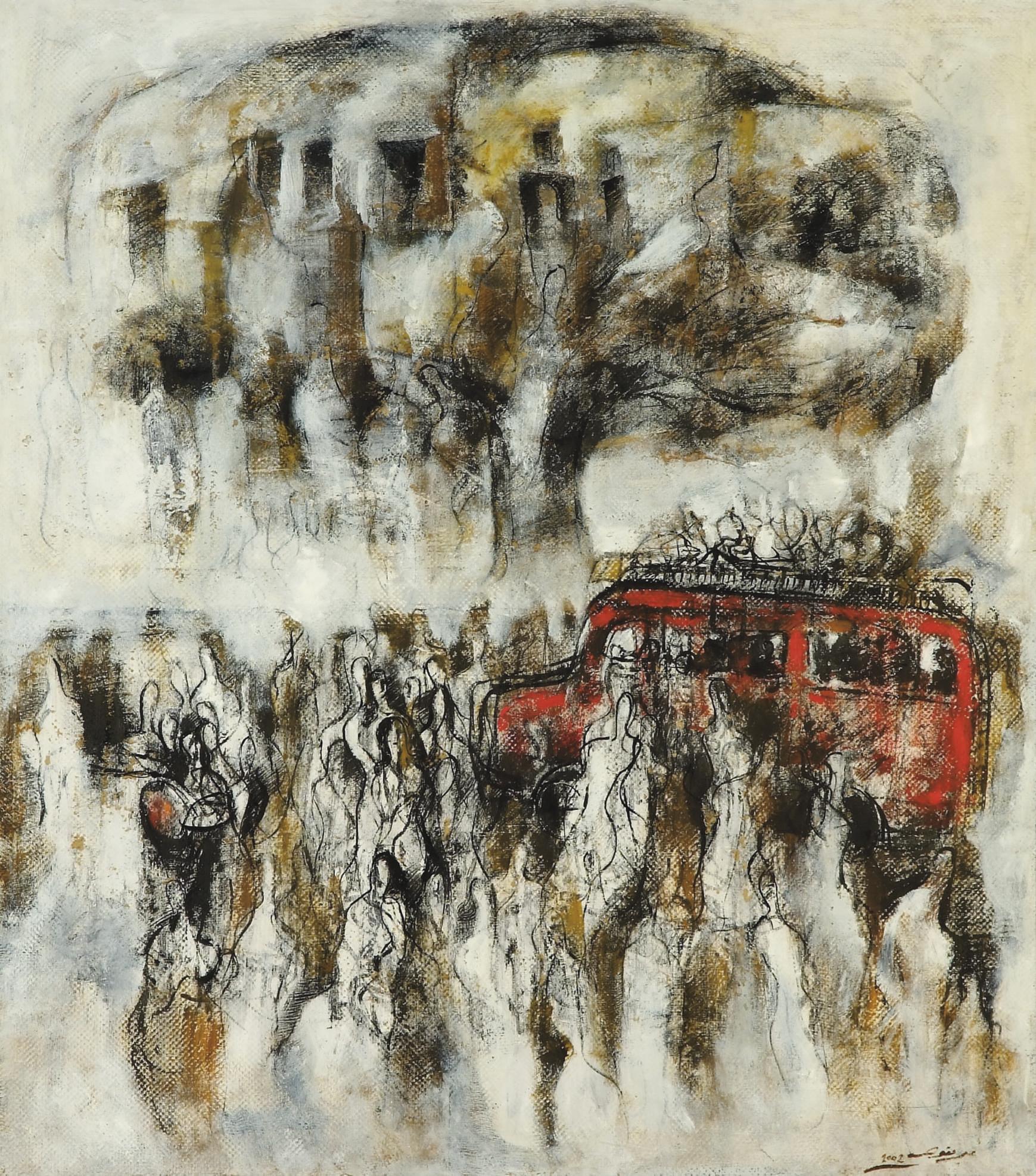 Ali Mukawwas (Syrian, b. 1955)