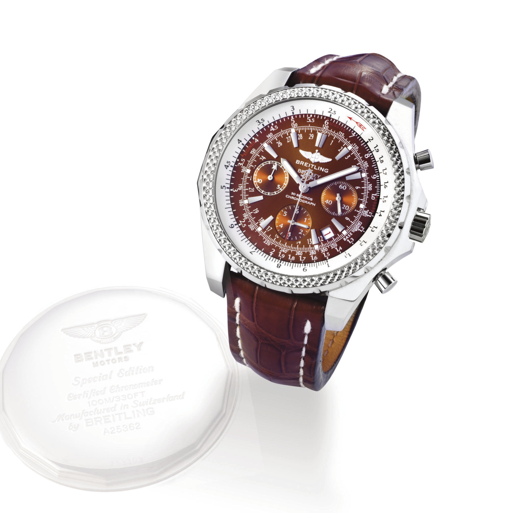 "BREITLING, ""BENTLEY MOTORS SPECIAL EDITION"" OVERSIZED"
