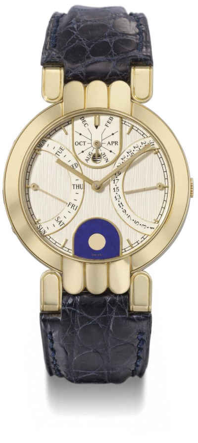 Harry Winston. An 18K gold sel
