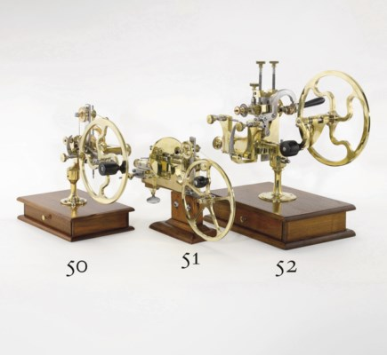 A steel and brass rounding-up