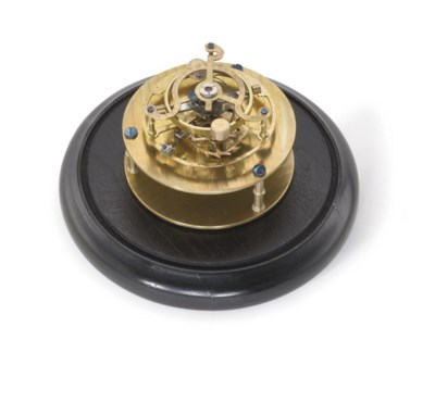 Anon. A brass escapement model