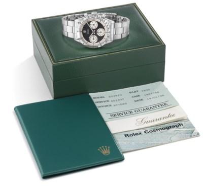 Rolex. A very fine and rare st
