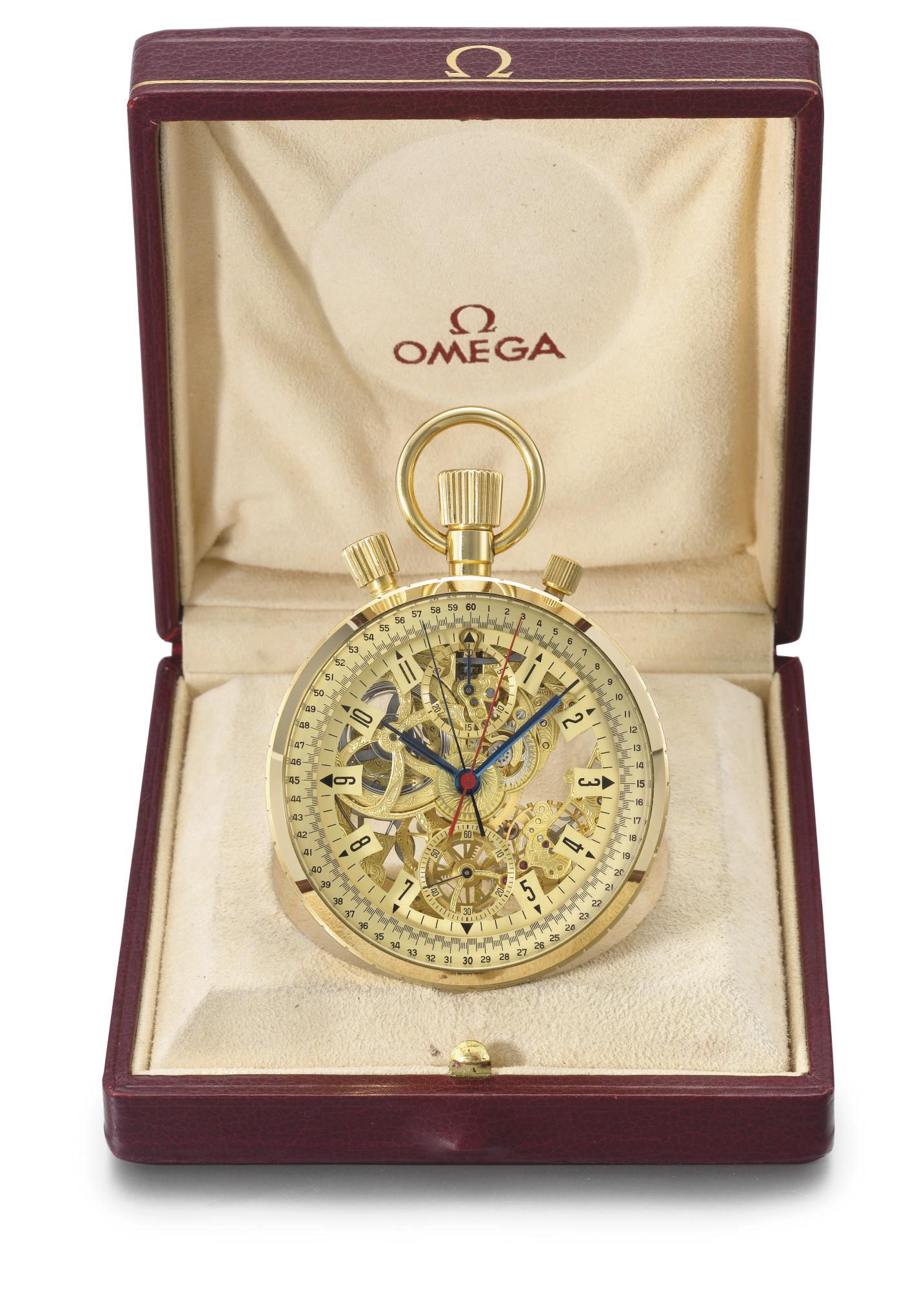 Omega. A fine, large and rare
