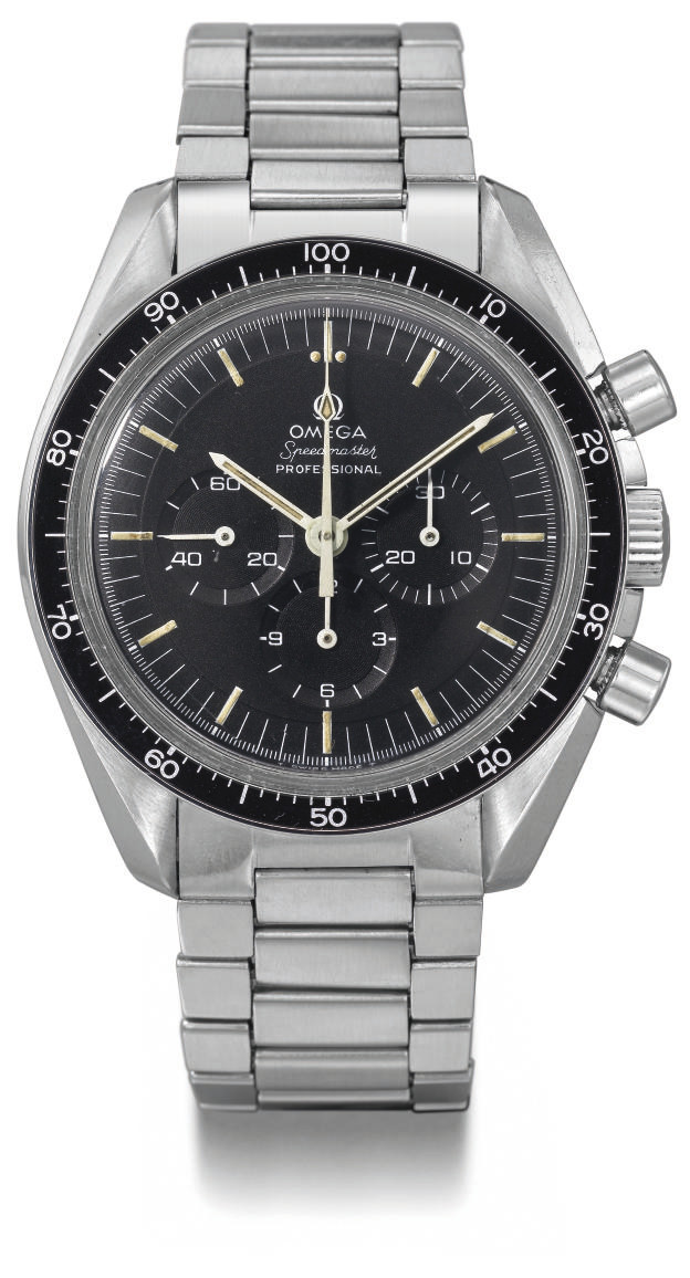 Omega. A rare stainless steel