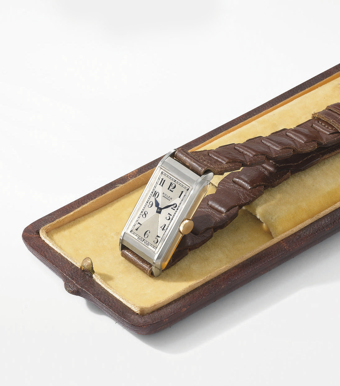 Rolex. A rare and unusual 18K