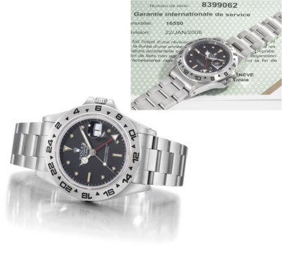 Rolex. An extremely rare and u