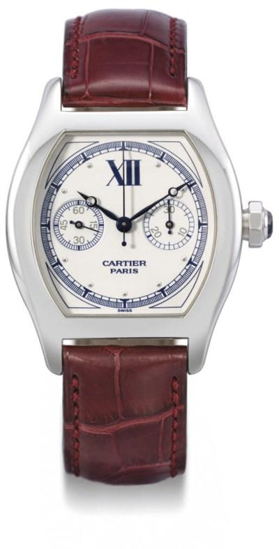 Cartier. A fine 18K white gold