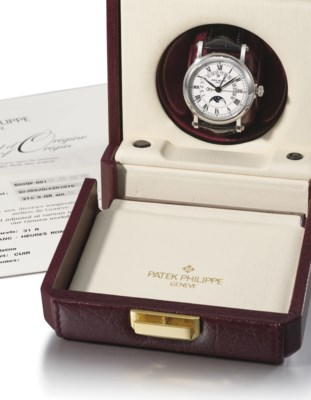 Patek Philippe. A very fine an